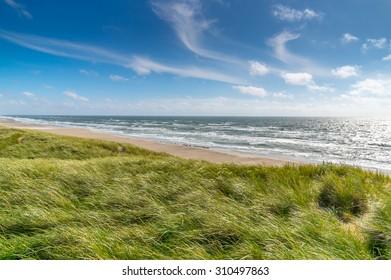 Northsea coast in Denmark