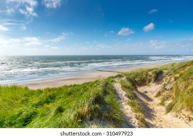 Northsea coast in Denmark