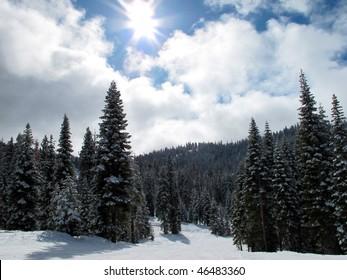 Northstar ski resort, California