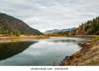 Northwest Montana River