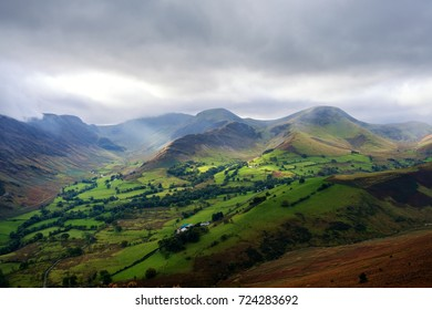 Northwestern Fells and the Newlands Valley, Lake District, Cumbria