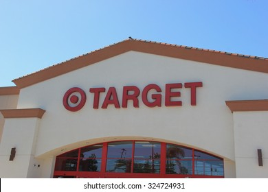 Norwalk, California, USA - October 3, 2015: Target Corporation is the second largest discount retailer in the United States.