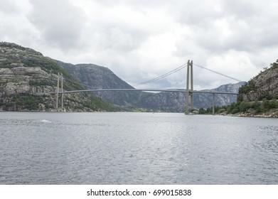 Norway. Bridge the Lysefjord