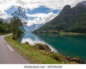 Norway Fjord scenery