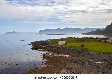Norway island landscape