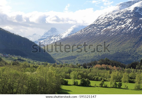 Norway. Mountain valley.