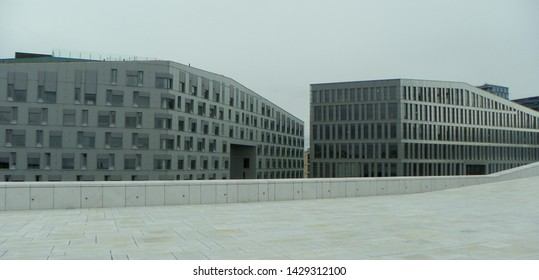 Norway, Oslo, Barcode Project, buildings near the Opera House