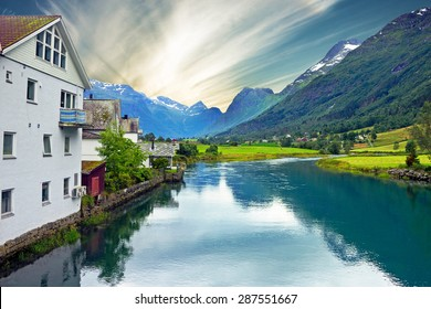 Norway - rural landscape, Olden