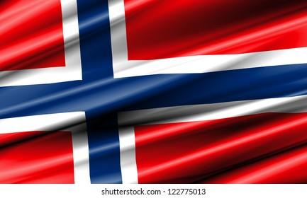 Norway Waving Flag