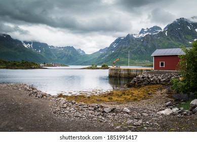 Norways West Coast Scenic Fjords and towering mountains
