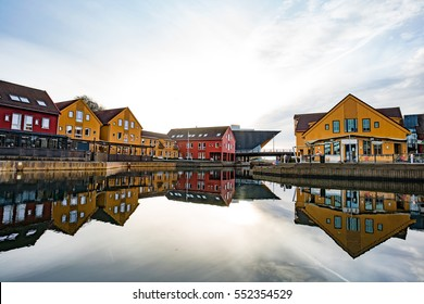 Norwegian City Kristiansand, in South Norway