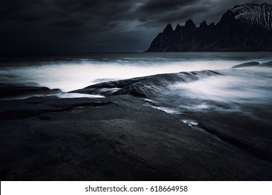 Norwegian coast and dramatic landscapes