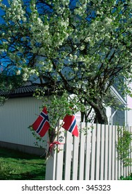 Norwegian Constitution Day 17th of May 2005 in Sandefjord, Norway