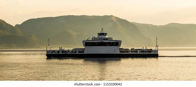 Norwegian electric car-ferry