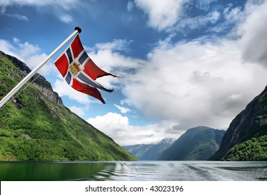 """Norwegian flag"""
