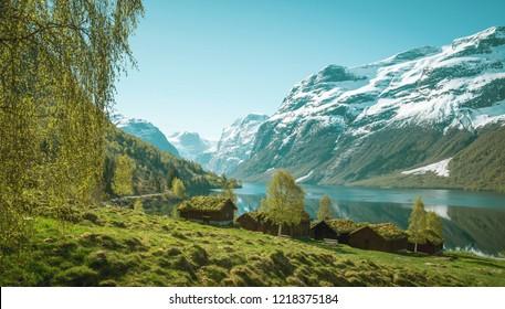 Norwegian landscape - nature of Norway
