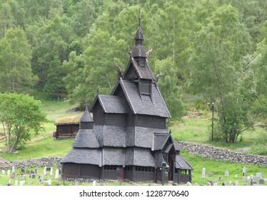 Norwegian old church