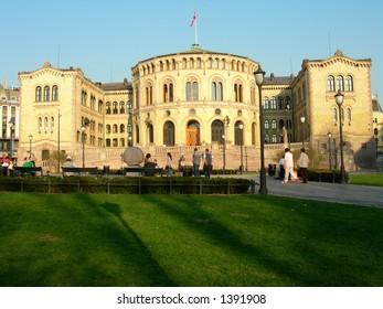 The Norwegian parliament Stortinget
