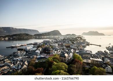 Norwegian west coast City Aalesund
