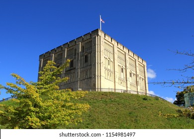 Norwich Castle, Norwich, Norfolk, UK
