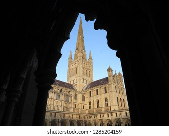Norwich Cathedral view