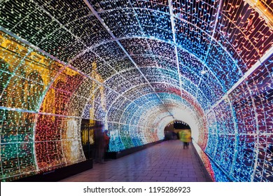 Norwich light tunnel