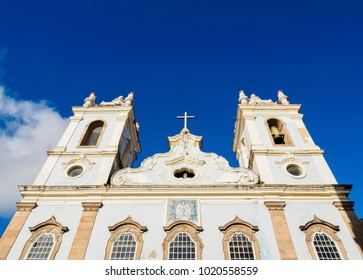 Nossa Senhora do Rosario dos Pretos Church, Pelourinho, Salvador, State of Bahia, Brazil