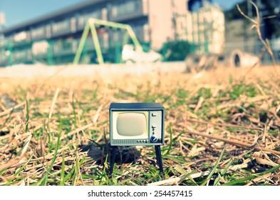 Nostalgic CRT TV