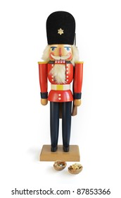 nostalgic nutcracker, isolated