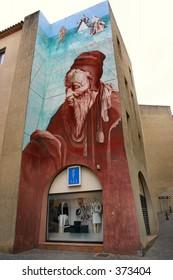 Nostradamus mural