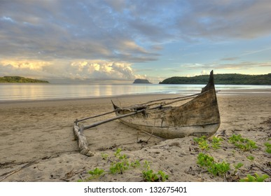 The Nosy Mitsio island of Madagascar. The Nosy Mitsio Archipelago lies 70 kilometers north of Nosy Be and is only accessible by boat