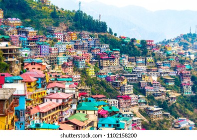 Not Brazil Nor Argentina Its my India. The beautiful landscape of Shimla situated in Himachal Pradesh.