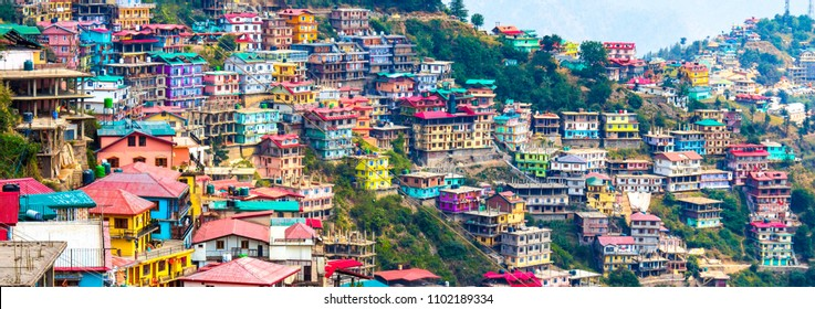 Not Brazil Nor Argentina Its my India. The beautiful panoramic landscape of Shimla situated in Himachal Pradesh.