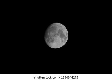 Not quite Full Moon - a bit larger
