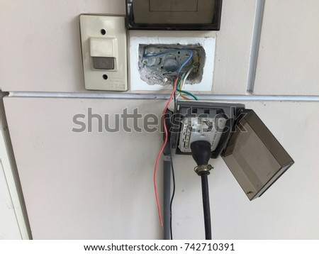 Remarkable Not Safety Power Supply Plugs Wiring Stock Photo Edit Now Wiring Digital Resources Remcakbiperorg