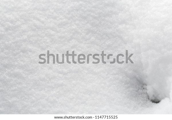 Not a smooth snow surface, background, with snowflakes, and structure, winter.