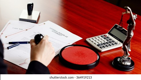 Notary public stamping power of attorney. Notary public accessories