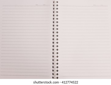 Note book for background