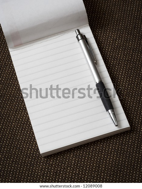 Note pad.