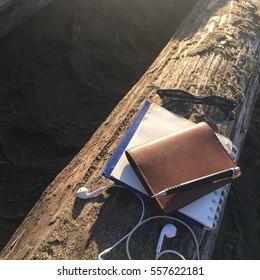notebook background.