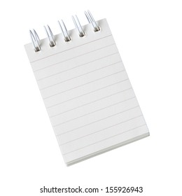 Notebook commonly used for notes or reminders