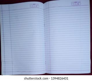 Notebook inner white line good view