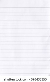 Notebook Lined Paper Background