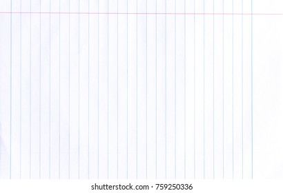 College Ruled Paper Images, Stock Photos & Vectors