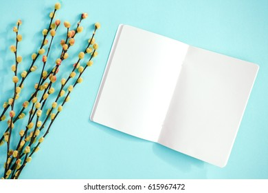blank open book mock upnote template stock photo edit now