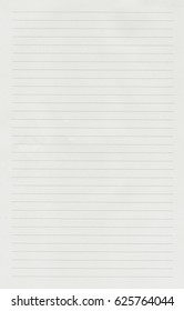 Notebook paper background. Lined paper