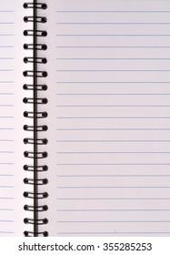 Notebook texture background