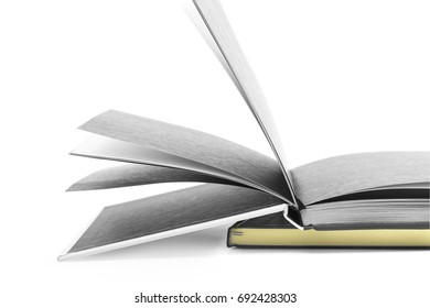 Notebooks isolated on white