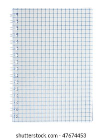 notepad isolated