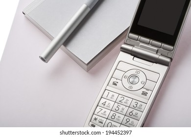 Notepad and mobile phone